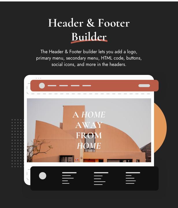Header & Footer Builder