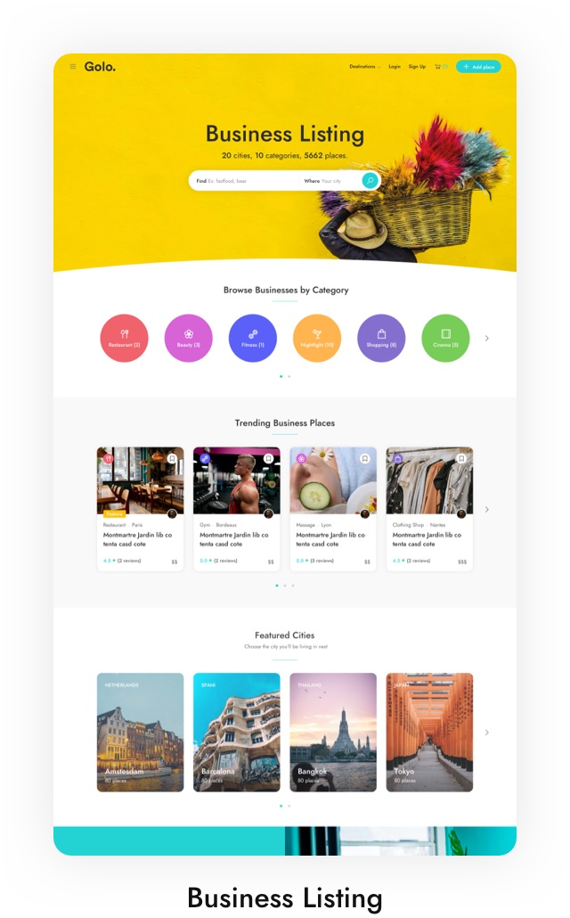 Country Travel Guide WordPress Theme