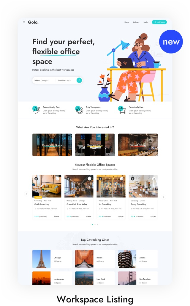Restaurant Listing WordPress Theme