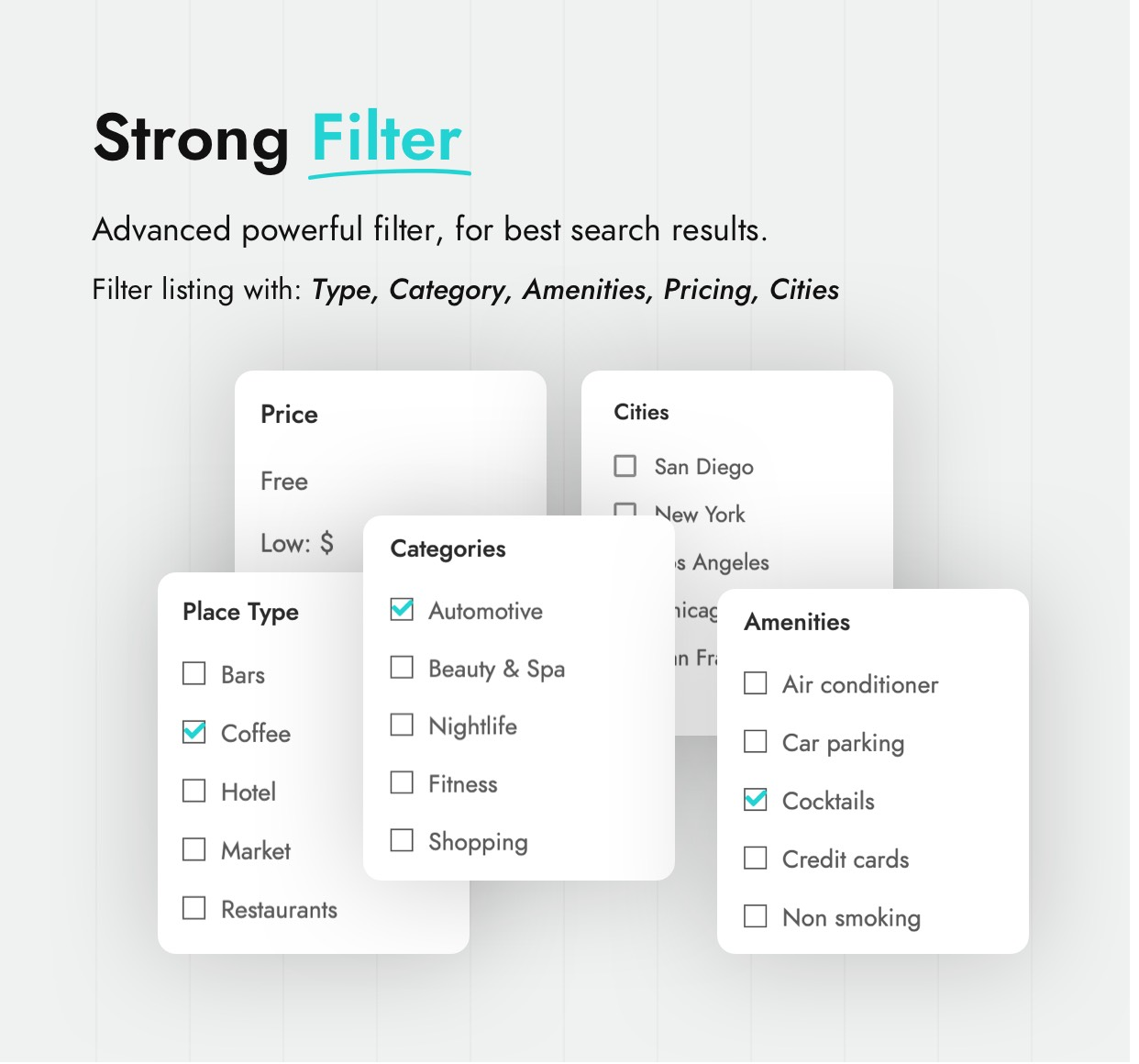 Listing Filter